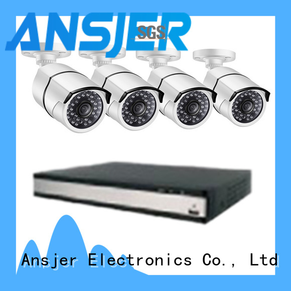 electric 2k security camera system email series for home