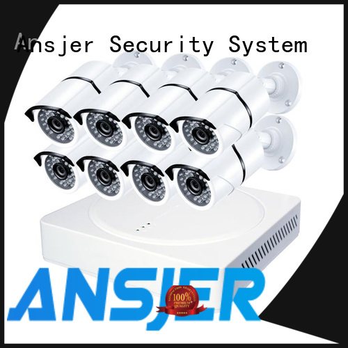 Ansjer cctv 4k security camera system supplier for home