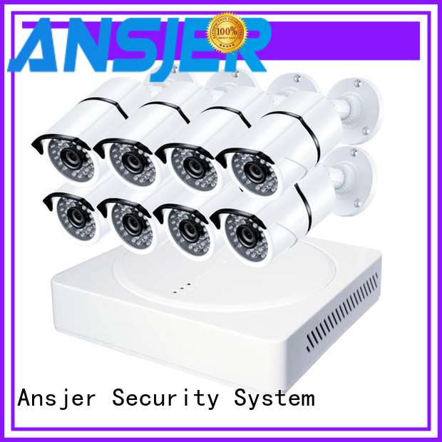 Ansjer cctv home 4k surveillance camera system manufacturer for home