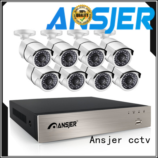 Ansjer cctv bullet ip camera 5mp poe manufacturer for indoors or outdoors