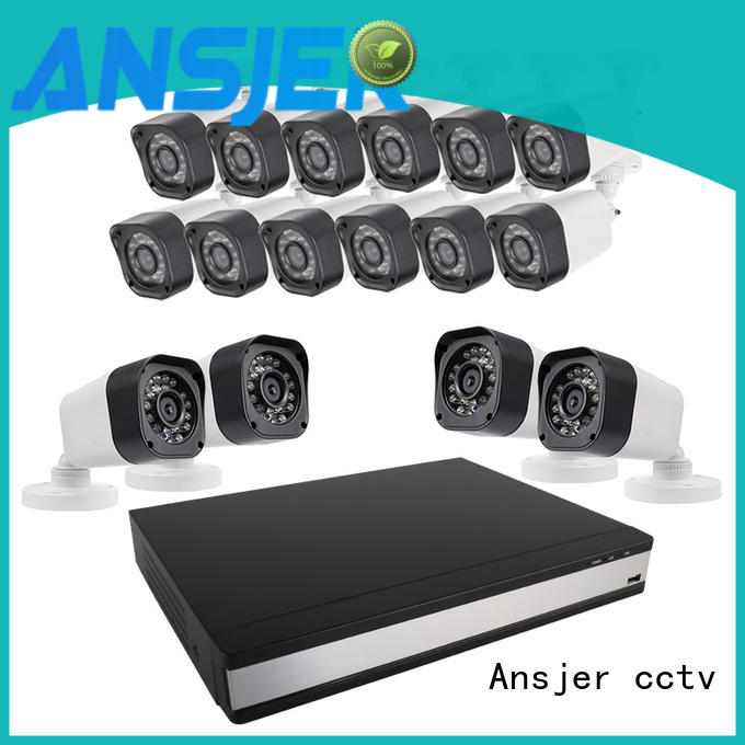 Ansjer cctv bullet 720p hd security camera system supplier for home