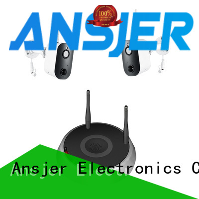 Ansjer cctv cameras smart home security system supplier for office