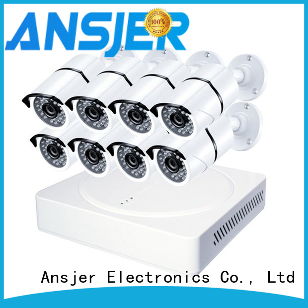 Ansjer cctv security 1080p security system series for indoors or outdoors