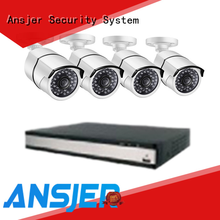 Ansjer cctv durable 2k ip security camera system wholesale for surveillance