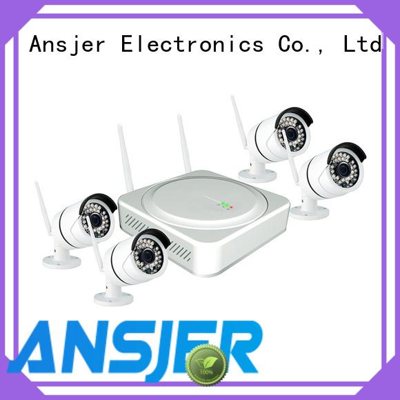 Ansjer cctv high quality wireless surveillance system manufacturer for surveillance