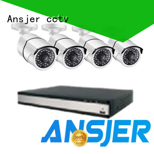 Ansjer cctv bullet security camera system 5mp series for home