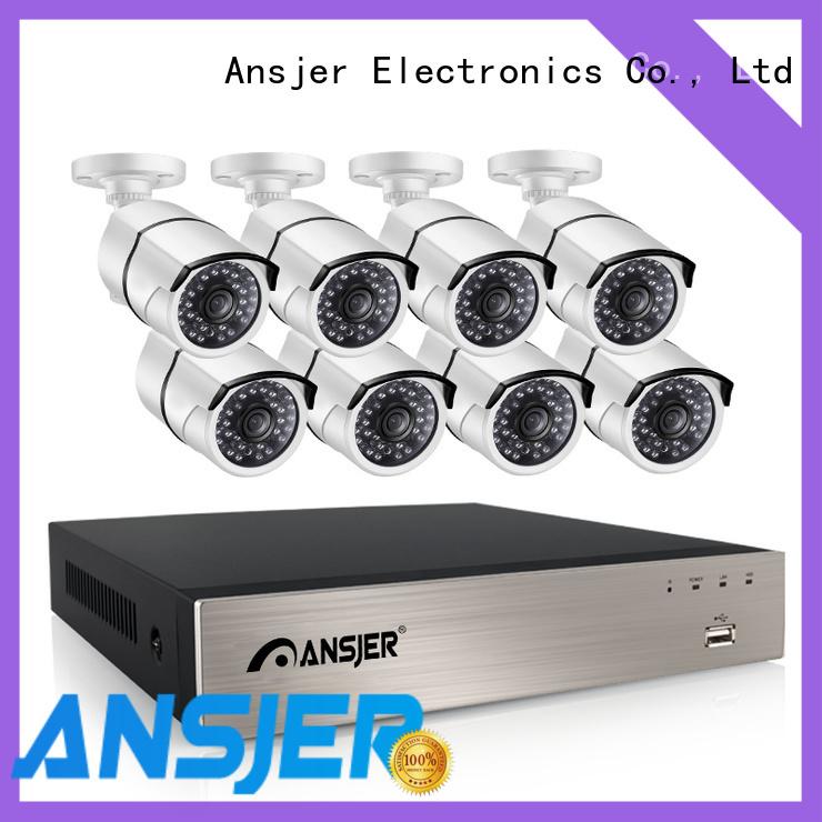 Ansjer cctv cameras poe ip camera 1080p series for surveillance