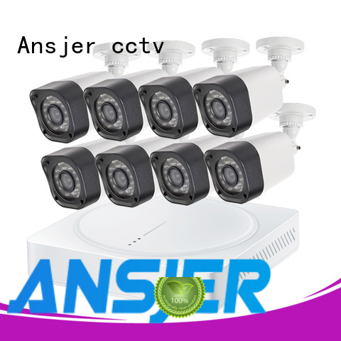 Ansjer cctv outdoor 720p hd security camera system manufacturer for office