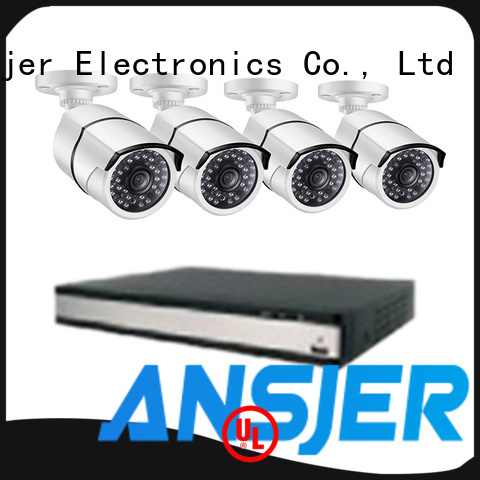 Ansjer cctv poe security camera system 1080p manufacturer for home