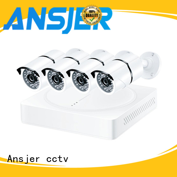 Ansjer cctv ansjer 2k security camera system wholesale for office