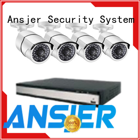 Ansjer cctv nvr 1080p poe nvr supplier for home