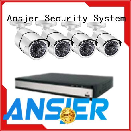 Ansjer cctv nvr 1080p poe nvr supplier for home