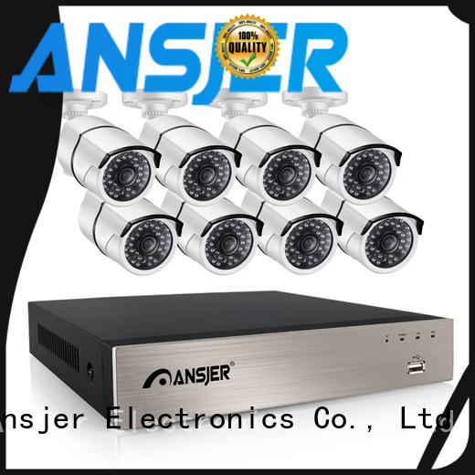 Ansjer cctv cameras 5mp nvr series for surveillance