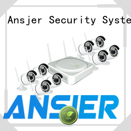 Ansjer cctv vision wireless cctv system wholesale for indoors or outdoors