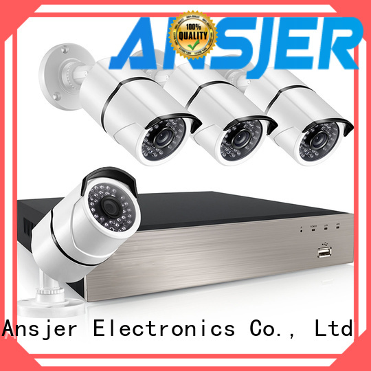 Ansjer cctv electric poe ip camera 1080p supplier for office