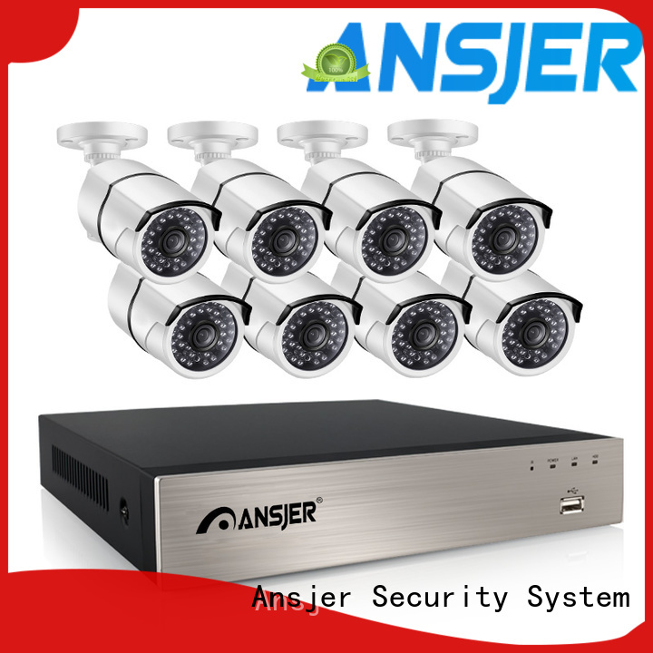 electric poe security camera system 1080p channel wholesale for indoors or outdoors