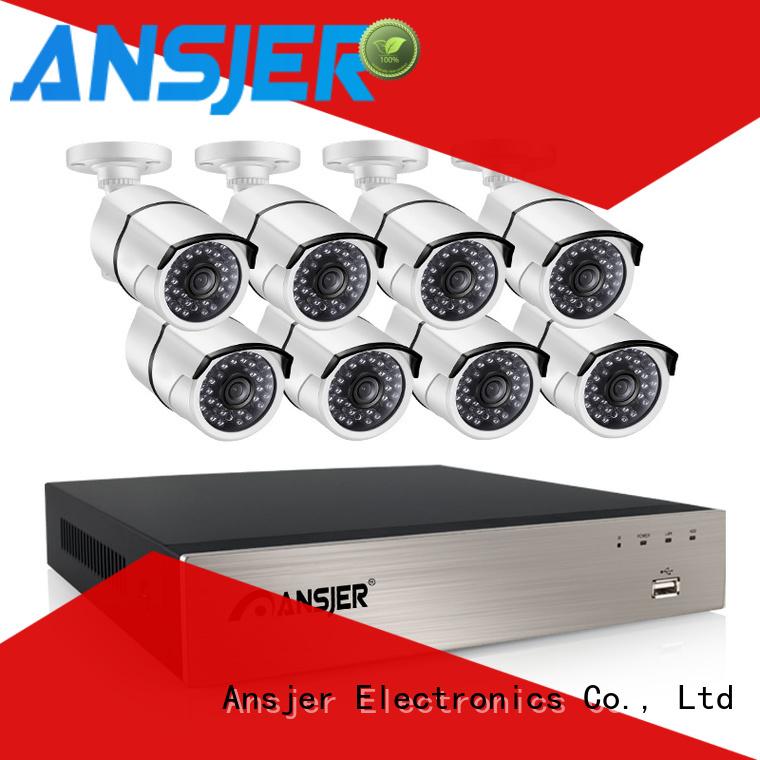 Ansjer cctv poe cctv 1080p supplier for office