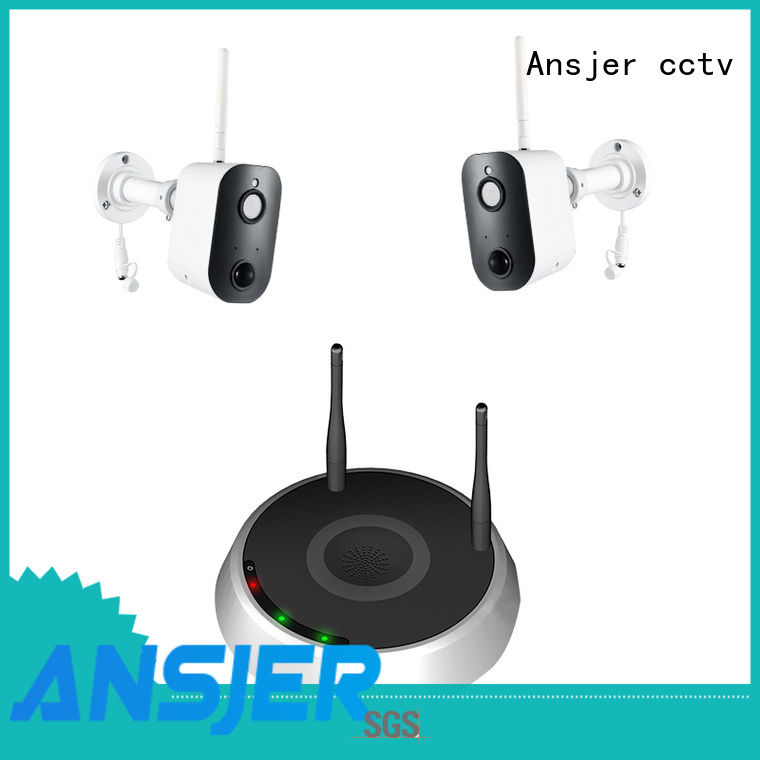 Ansjer cctv security smart home monitoring system supplier for indoors or outdoors