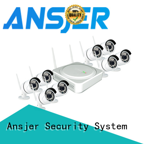 durable wireless cctv camera system vision with night vision for office