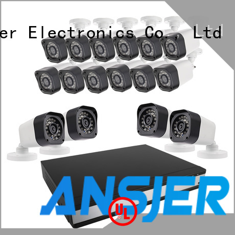 Ansjer cctv durable 720p security camera system supplier for office