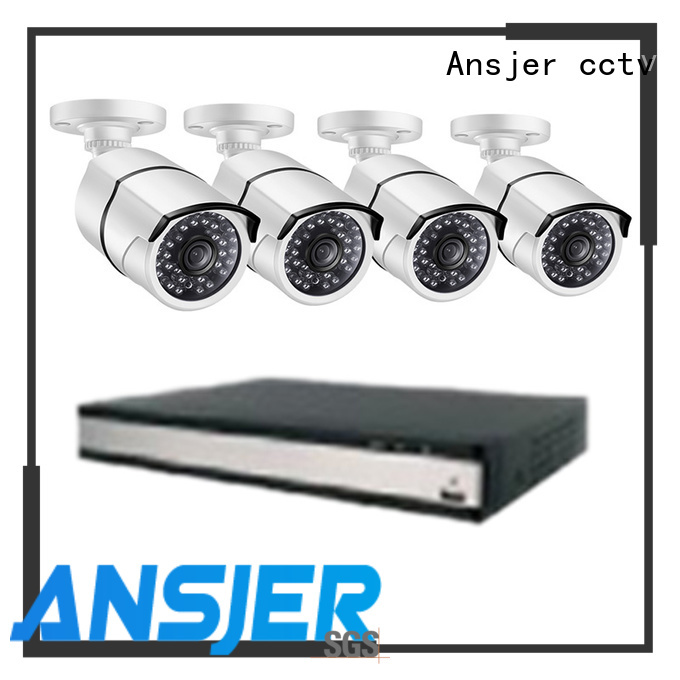 Ansjer cctv ansjer 2k ip security camera system manufacturer for office