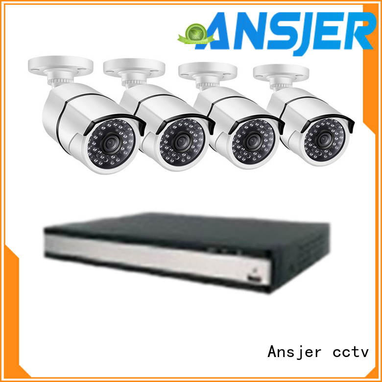 Ansjer cctv electric 1080p poe nvr supplier for surveillance