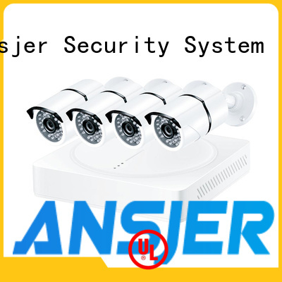 Ansjer cctv system 4k camera system supplier for home